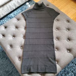 Xhilaration Black Turtleneck Sweater Dress NWOT